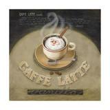 Kaffe latte Giclee-trykk av Lisa Audit