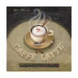 Caffe Latte Giclée-Druck von Lisa Audit