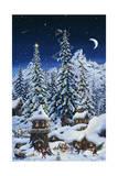 Christmas with the Elves Lámina giclée por Jeff Tift