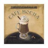 Cafe Mocha Giclée-vedos tekijänä Lisa Audit
