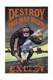 Destroy This Mad Brute Giclee Print