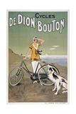 Cycles De Dion-Bouton Lámina giclée