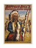 Buffalo Bills Wild West II Giclee Print