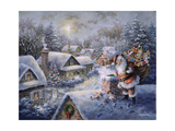 Bringing Joy and Happiness Giclee Print by Nicky Boehme