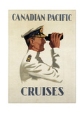 Canadian Pacific Cruises Stampa giclée
