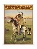 Buffalo Bills Wild West IV Giclee-trykk