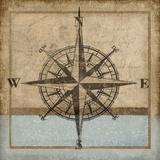 Compass Rose I Reproduction procédé giclée par Karen Williams