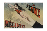 Circus la Femme Mélanite Giclée-Druck