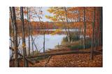 Crescent Lake Reproduction procédé giclée par Bruce Dumas