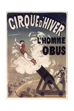 Cirque De Hiver Giclée-Druck