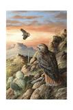 Canyon Hunters Reproduction procédé giclée par Trevor V. Swanson