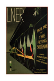 Flying Scotsman Giclée-Druck