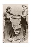Bonnie and Clyde I Reproduction procédé giclée