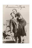 Bonnie and Clyde Ii Reproduction procédé giclée