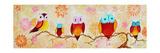 Chi Omega Owl Painting Giclée-Druck von Megan Aroon Duncanson
