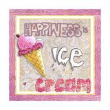 Happiness Is Ice Cream Giclée-Druck von Megan Aroon Duncanson