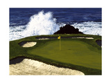 Golf Course 2 Giclee Print by William Vanderdasson