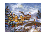 Country Cottages Giclée-Druck von Nicky Boehme