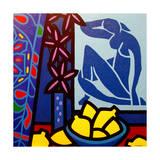 Homage to Matisse 1 Reproduction procédé giclée par John Nolan