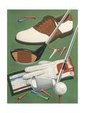 Golf Goodies Giclee Print by William Vanderdasson