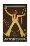 Don Q, Son of Zorro Giclee Print