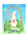 Happy Spring Bunny Giclee Print by Melinda Hipsher