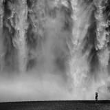 Island Fotografisk trykk av Maciej Duczynski