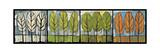 Four Seasons Tree Series Horizontal Giclée-Druck von Tim Nyberg
