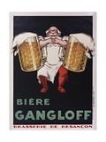 Gangloff Biére Giclée-tryk