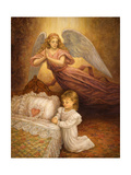 Good Night Prayer Giclee Print by Edgar Jerins
