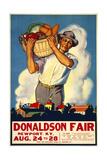 Donaldson State Fair Poster Giclée-tryk