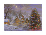 Happy Holidays Lámina giclée por Nicky Boehme