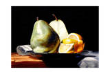 Fruit on Silver Plate Giclee Print by Laurin McCracken