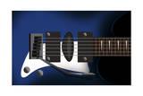 Electric Guitar D6Ivpj3 Giclee Print by Mark Ashkenazi