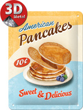 Pan Cakes Tin Sign