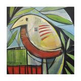 Fancy Bird Gicléetryck av Tim Nyberg