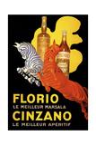 Florio Cinzano Giclée-tryk