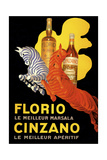 Florio Cinzano ジクレープリント