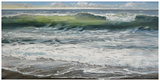 Shoreline study 8 Lámina por Carole Malcolm