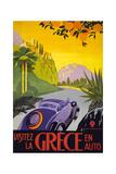 Grækenland Giclée-tryk