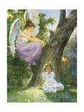 Guardian Angel Giclee Print by Hal Frenck