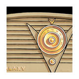 Galaxy Radio - Tan Giclee Print by Larry Hunter