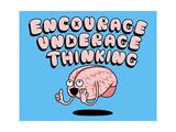 Encourage Underage Thinking Lámina giclée por Steven Wilson