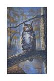 Great Horned Owl Reproduction procédé giclée par Bruce Dumas