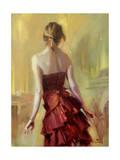 Girl in a Copper Dress 1 Giclee Print by Steve Henderson