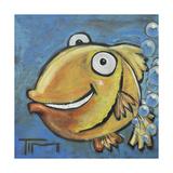 Farting Fish Giclée-Druck von Tim Nyberg