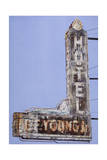 Hotel Sign - Meridian Ms Giclee Print by Laurin McCracken