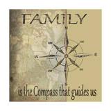 Family Is Reproduction procédé giclée par Karen Williams