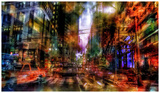 New York abstract Plakater av  Jefd