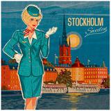 Stockholm Posters av Bruno Pozzo
